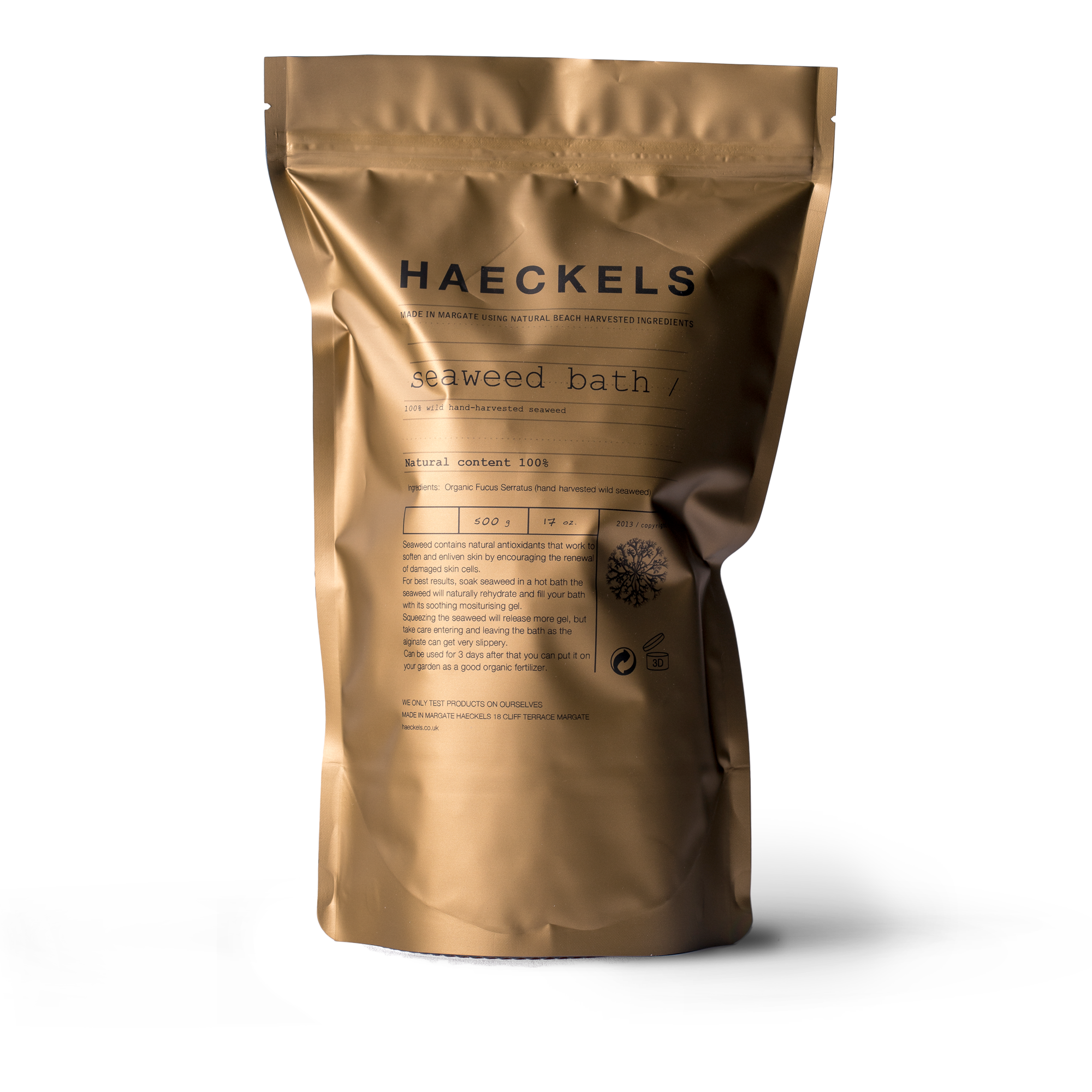Traditional Seaweed Bath By Haeckels 100 Natural And Locally Harvested