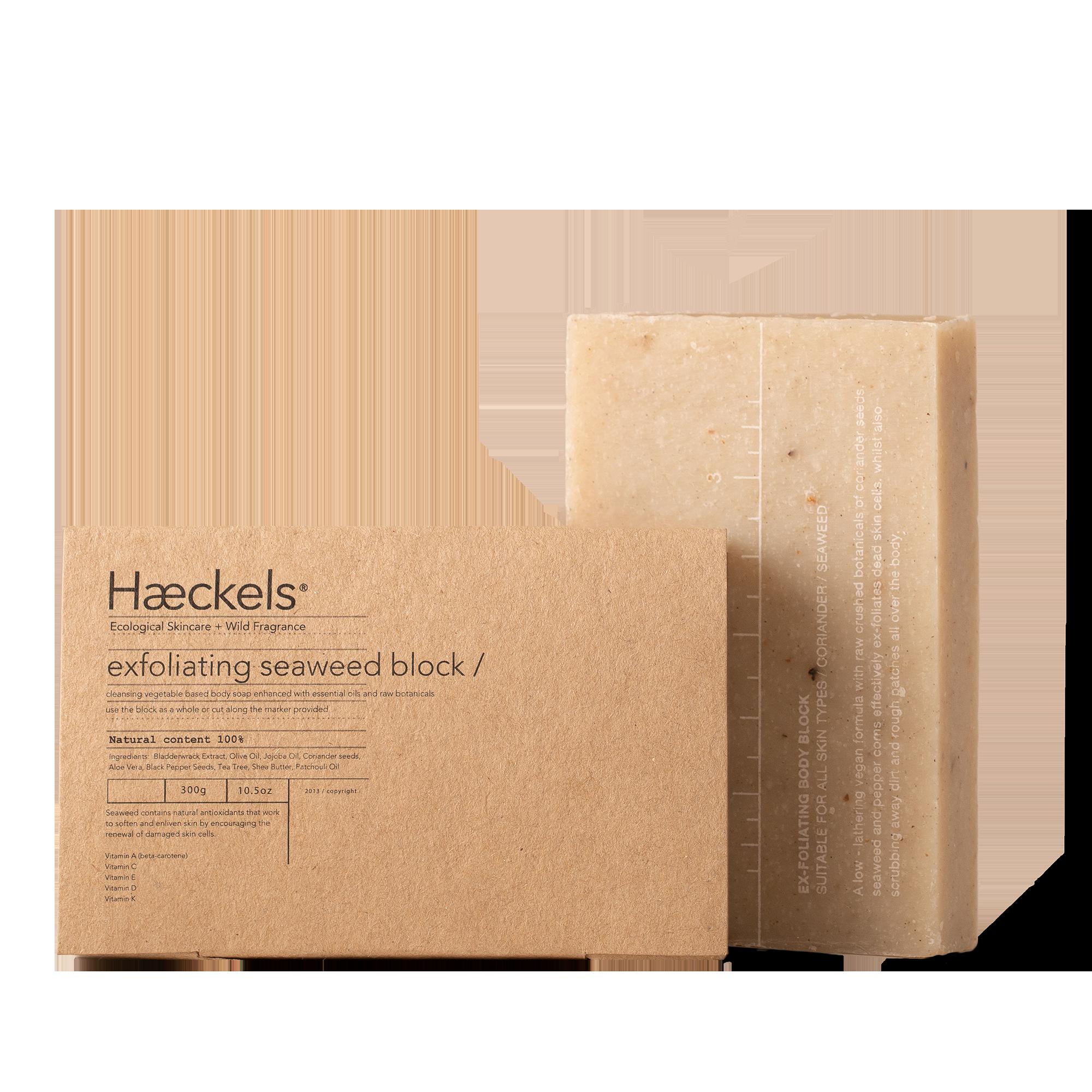 Large Exfoliating Vegan Seaweed Block